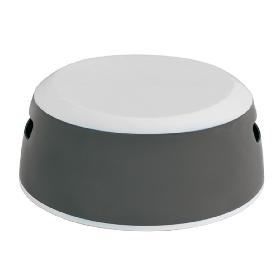 LUMA Stool dark grey