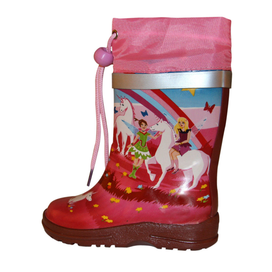 BECK Girls Stivali in gomma WONDERLAND multicolor