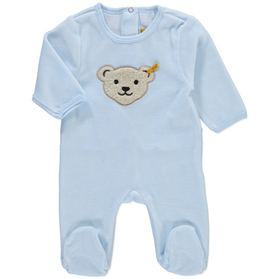 STEIFF Girls Baby Nicki Śpioszki baby blue
