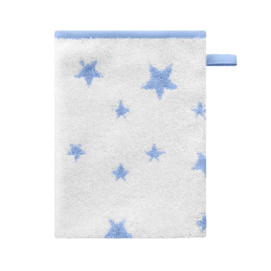 BELLYBUTTON Tvätthandskar STARS light blue