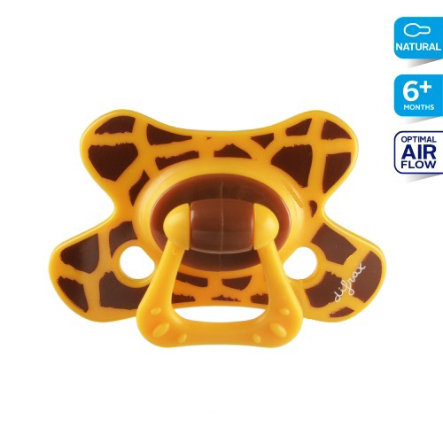 DIFRAX Sucette en silicone Natural Special 6+ M