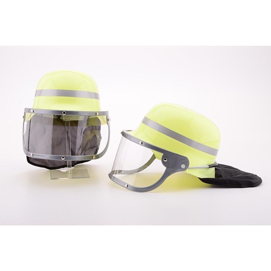 JOHNTOY Roleplay - Hasičká helma s průhledem