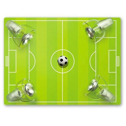 WALDI Stropní světlo,fotbalové hřiště,  4-žárovky
