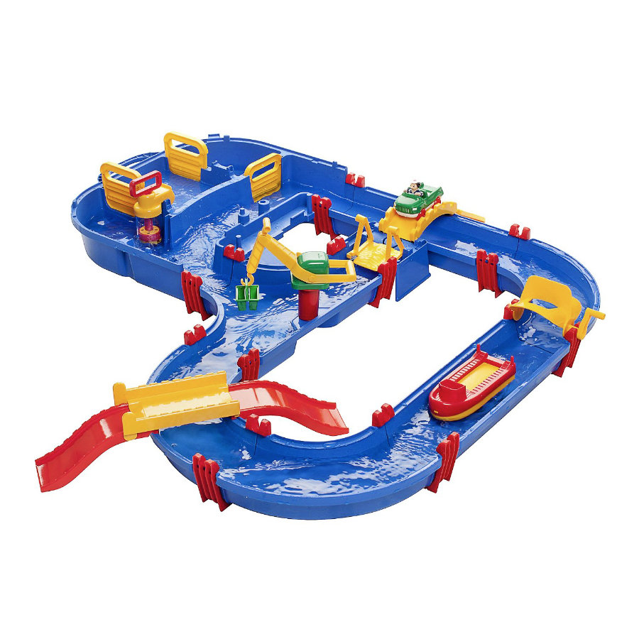 AQUAPLAY Circuit aquatique enfant MegaBridge Pont géant 628