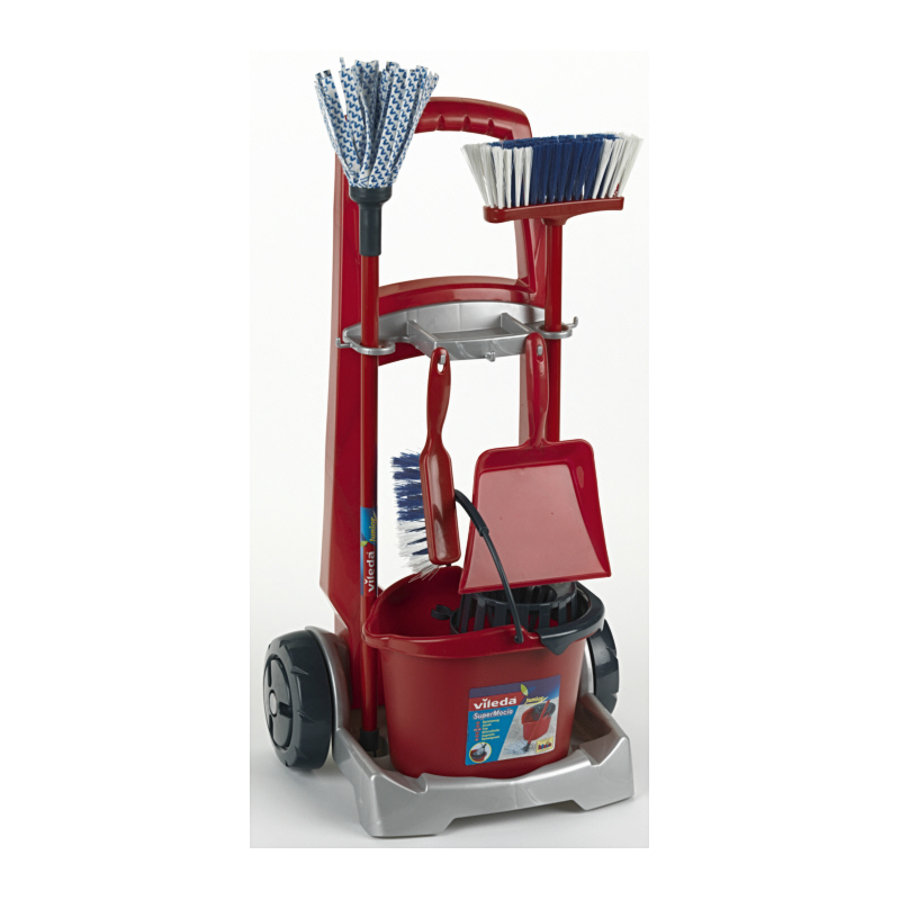 KLEIN Vileda Cleaning Trolley