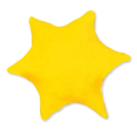 THERALINE Coussin aux Noyaux de Cerise Forme Dessin 21 L'Étoile 25cm