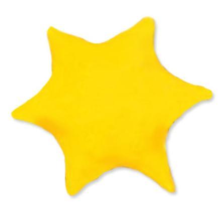 THERALINE Polštářek z třešňových pecek design: Hvězda 25 cm