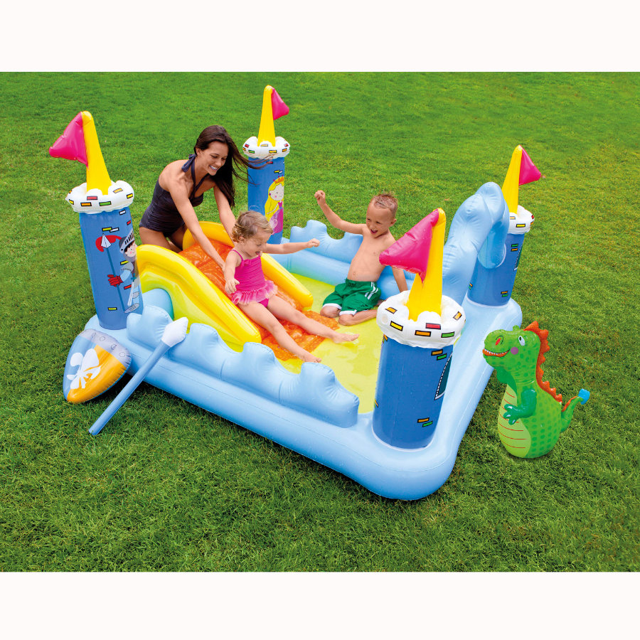 INTEX Piscina gonfiabile - Playcenter Fantasy Castle - 185x152x107 cm