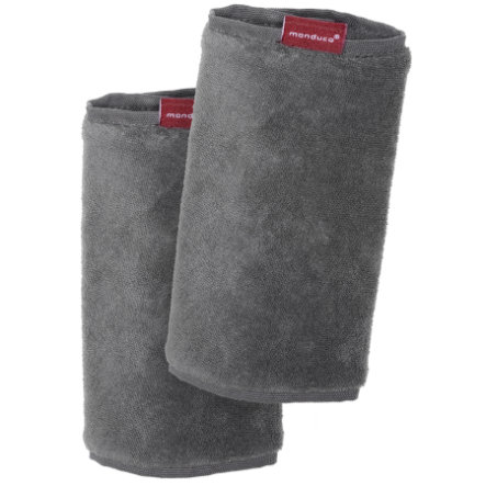 MANDUCA Protège-bretelles Fumbee grey lot de 2