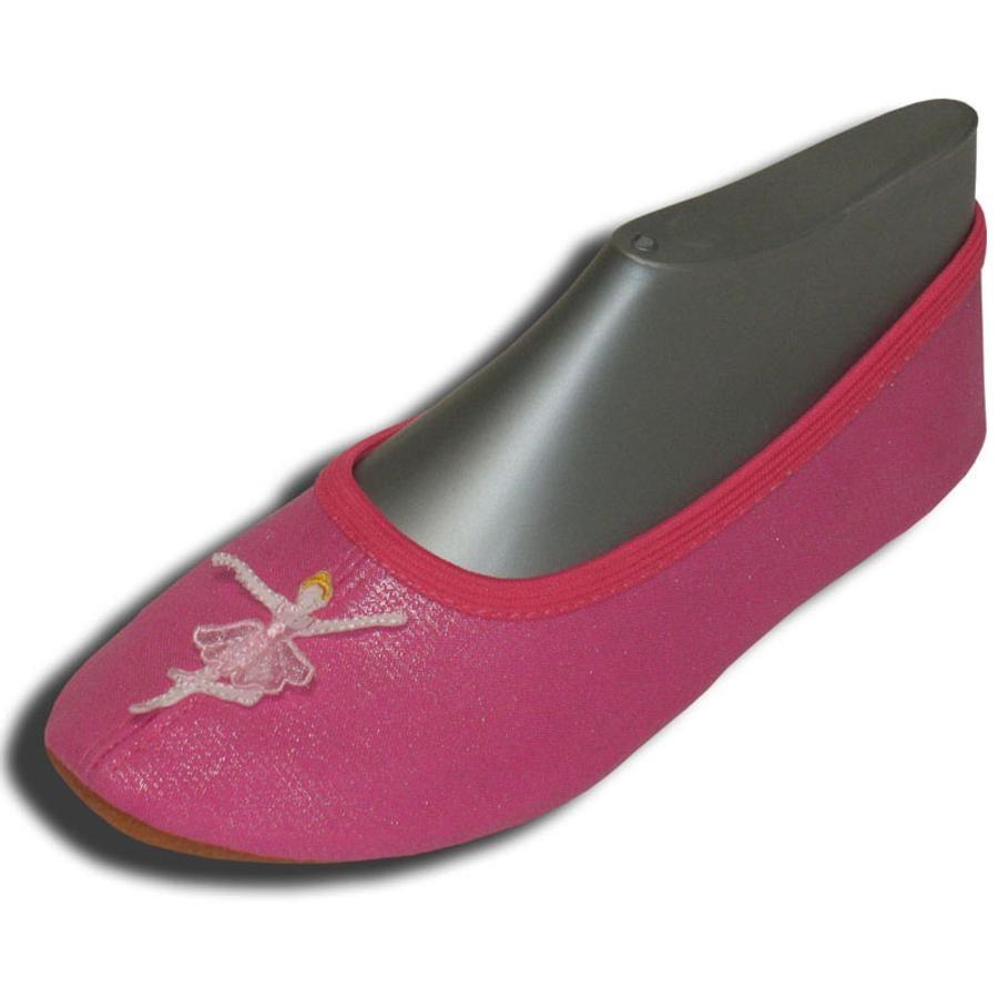 BECK Girls Zapatos de gimnasia BAILARINA rosa