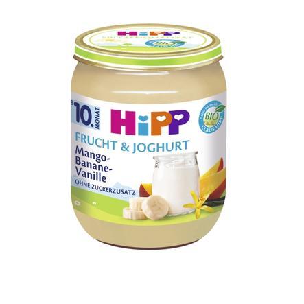 HIPP Bio Frucht & Joghurt Mango-Banane-Vanille 160g