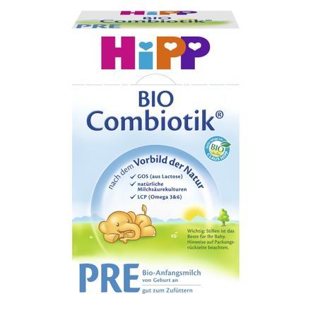 HiPP Anfangsmilch Bio-Combiotik® Pre von Geburt an 600 g