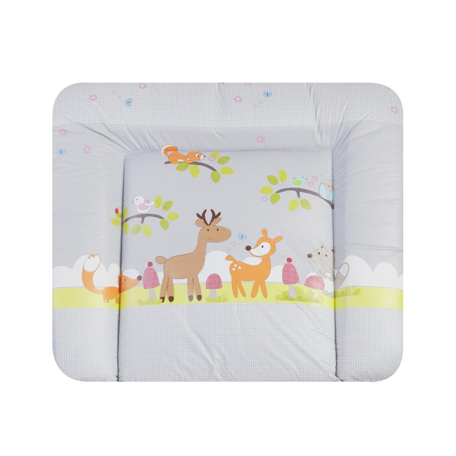 ZÖLLNER Changing Pad Softy - Forest Animals grey