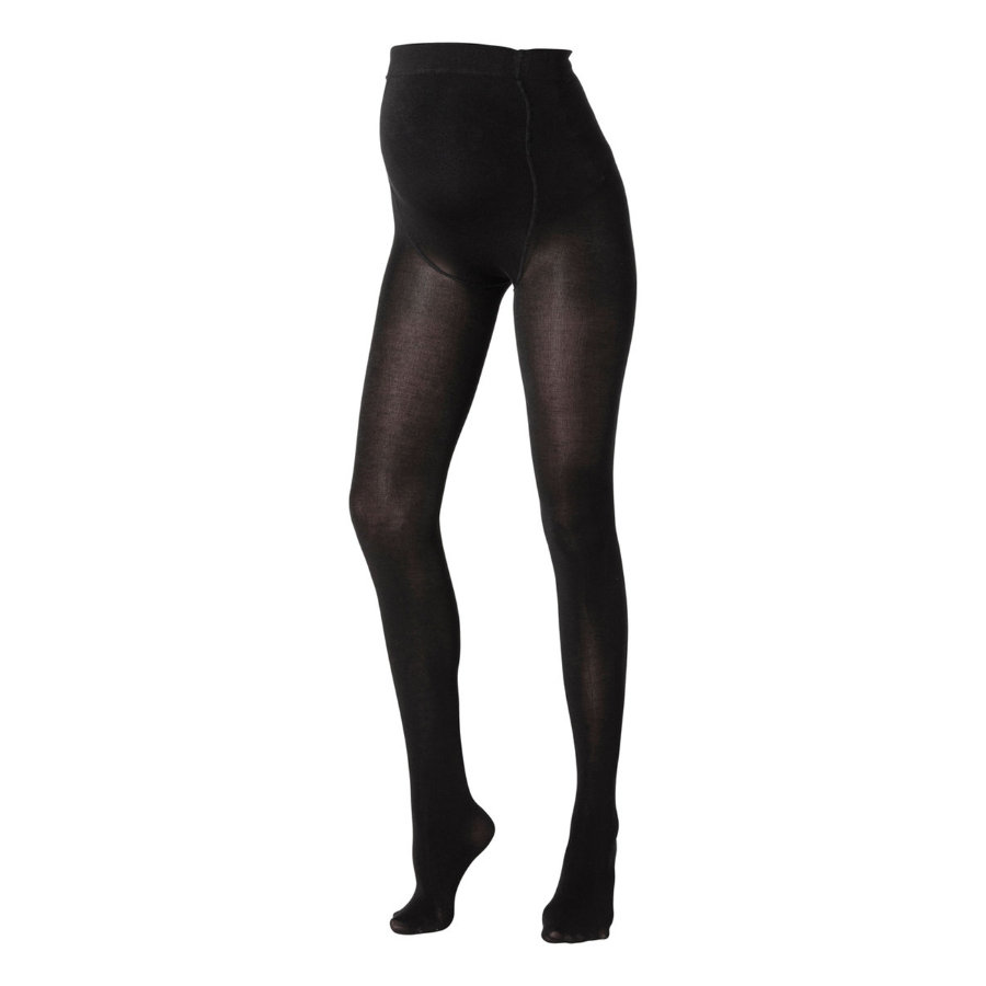 MAMA LICIOUS Umstands Pantyhose JENNIE black 2er-Pack