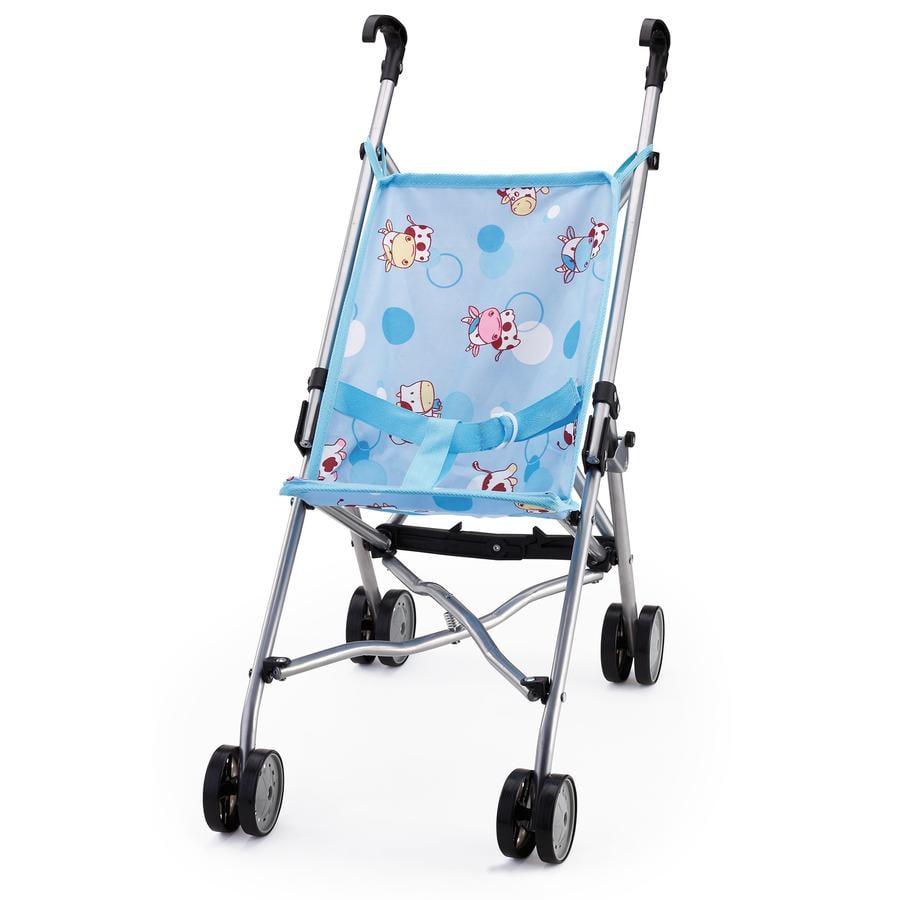 BAYER DESIGN Wózek spacerowy dla lalek kolor niebieski