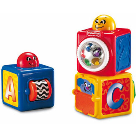 FISHER PRICE Play and Stack Blocks
