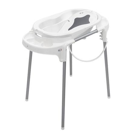Rotho Babydesign Ensemble baignoire sur pieds bébé TOP, blanc, 4 pièces