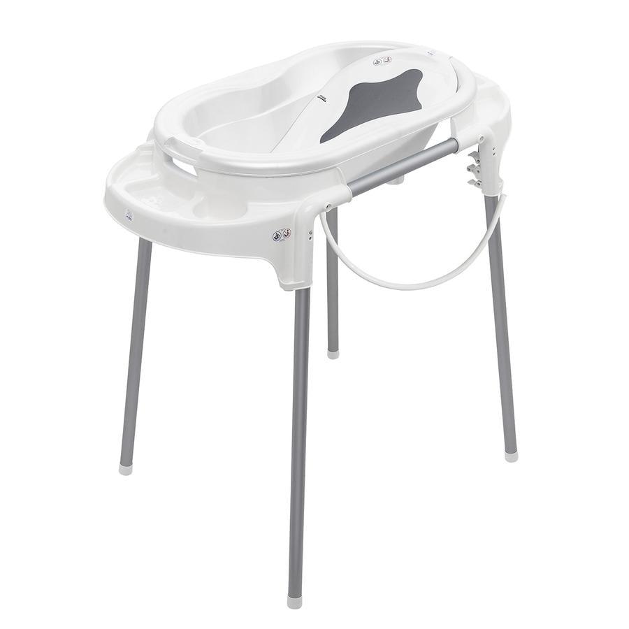 ROTHO Vaschetta da bagno con supporto TOP bianco - pinkorblue.it
