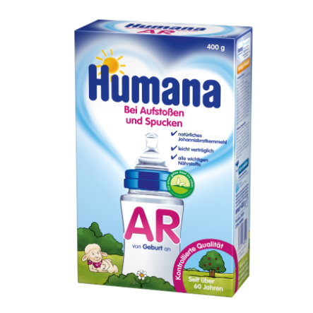 Humana AR is a Special Formula - in case of reflux and burping 400g