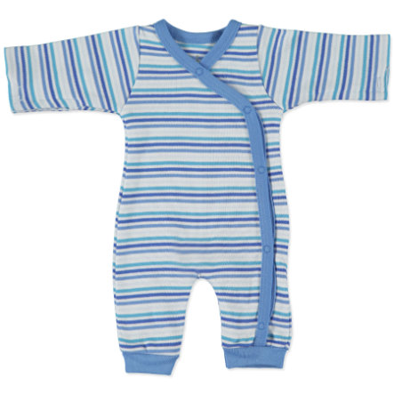 FIXONI Boys Preemie Overall stripes blue