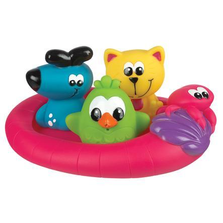 playgro Badespielzeug Schwimmende Freunde