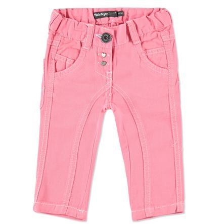 DIRKJE Girls Mini Spodnie dżinsowe pink