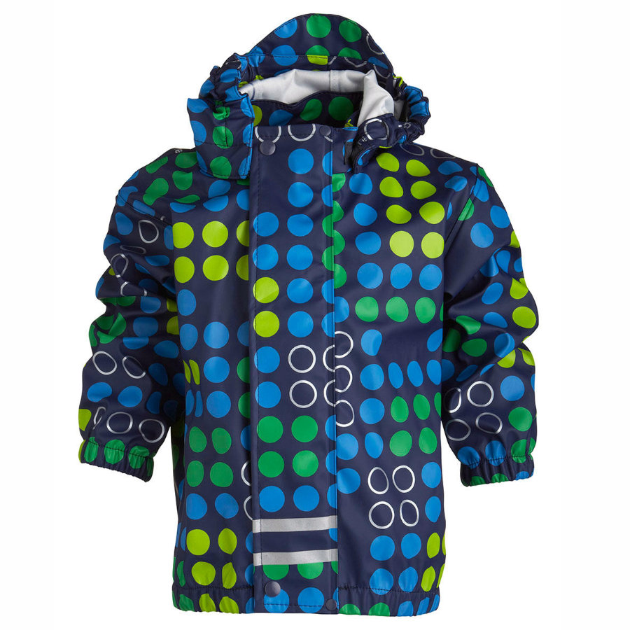 lLEGO WEAR Boys Mini Rain Jacket JOSH midnight blue