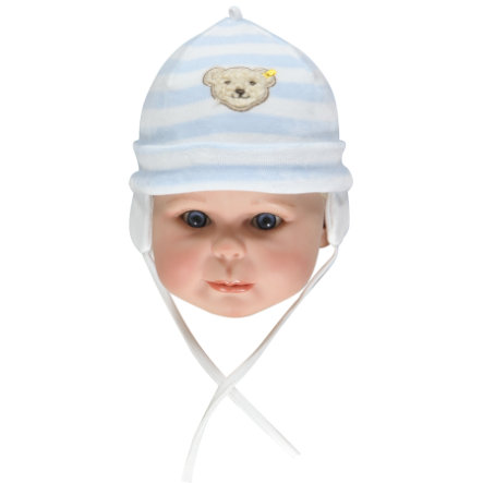 STEIFF Boys Baby Velour Hat baby blue