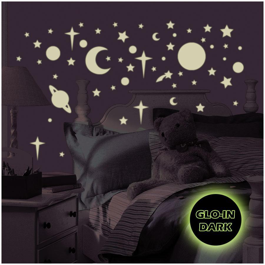 RoomMates® Wandsticker Celestial (glow in the Dark)