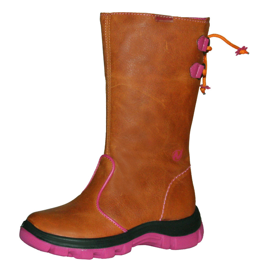 NATURINO RAINSTEP Girls Stiefel YULE orange/pink