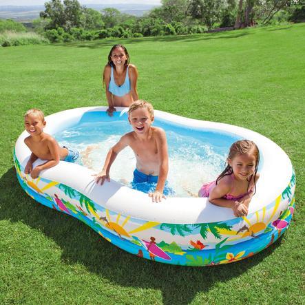 INTEX Basen Swim Center™ Paradise Pool