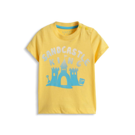 ESPRIT Boys Baby T-Shirt SANDCASTLE cw yellow