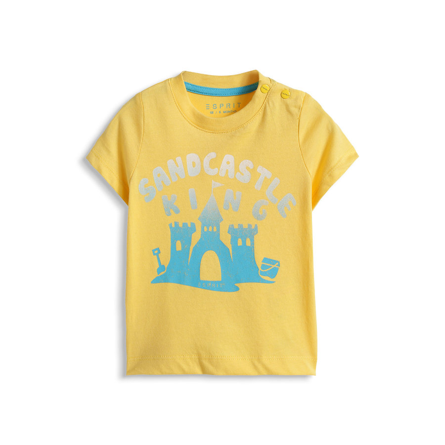 ESPRIT Baby T-Shirt SANDCASTLE cw yellow