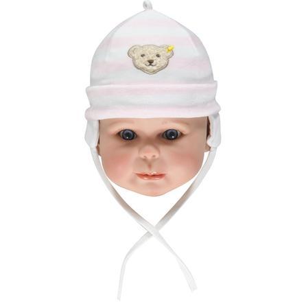 Steiff Girls Baby Nicki Mütze barely pink