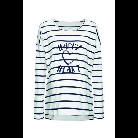 belly Button Sweatshirt för mödrar Happy Heart