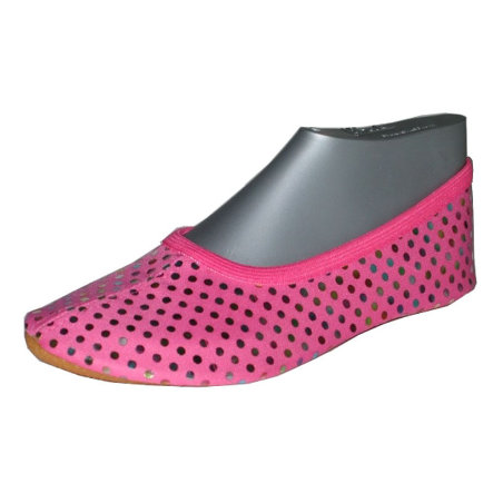 BECK Girls Gymnastikschuh PUNKTE pink