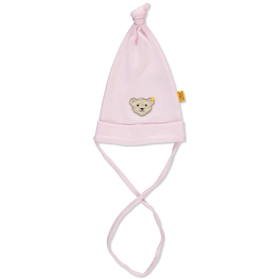 STEIFF Girls Baby Gorro barely pink