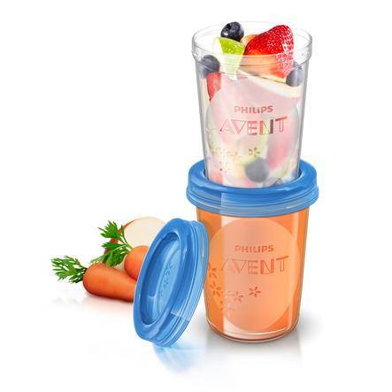 Philips AVENT SCF639/05 Förvaringsmuggar för mat 5x 240 ml