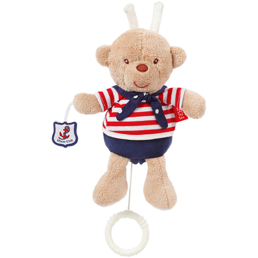 FEHN Peluche con carillon Ocean Club Mini Teddy