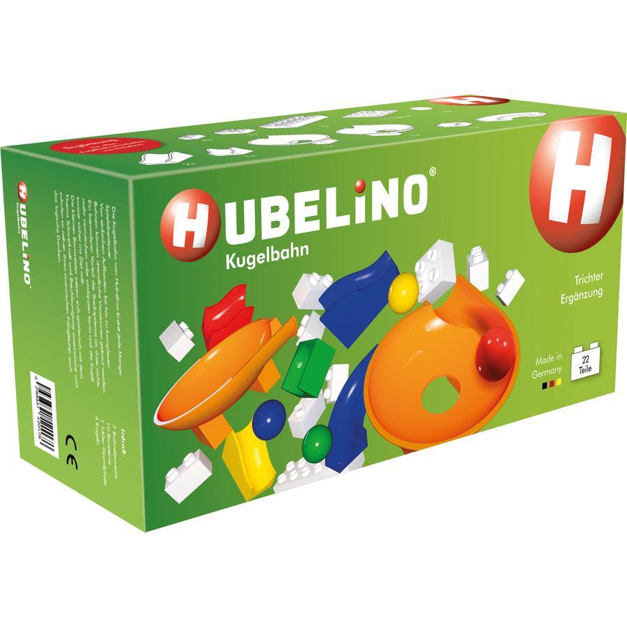 HUBELINO® Kugelbahn Trichter Ergänzung 22-teilig