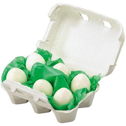 HABA Winkel & Keuken - 6 Eieren in eierdoos