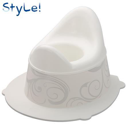 ROTHO STyLE! Pot Vintage white