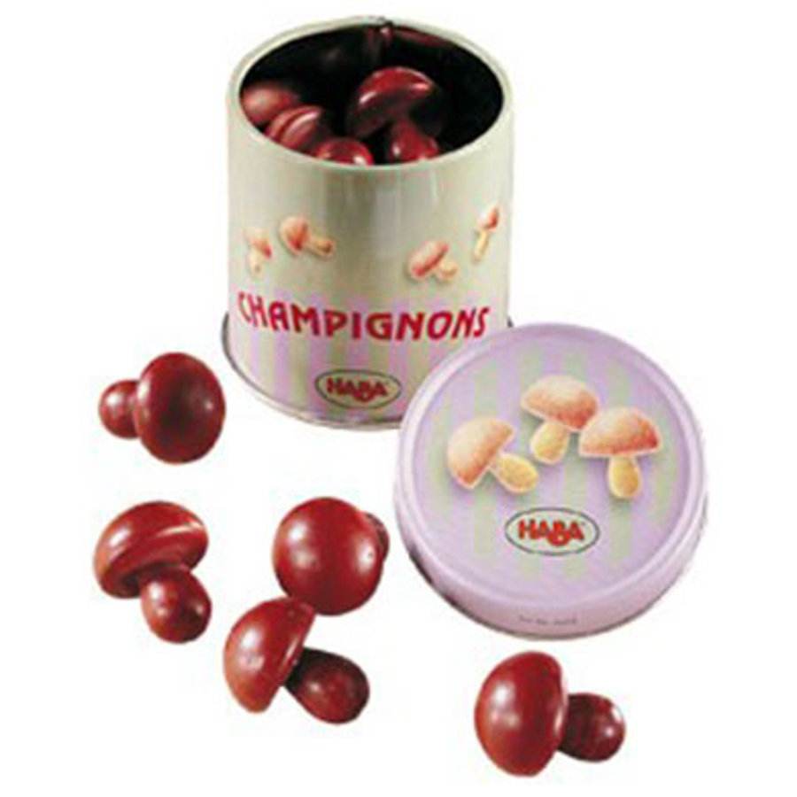 HABA épicerie boîte de champignons