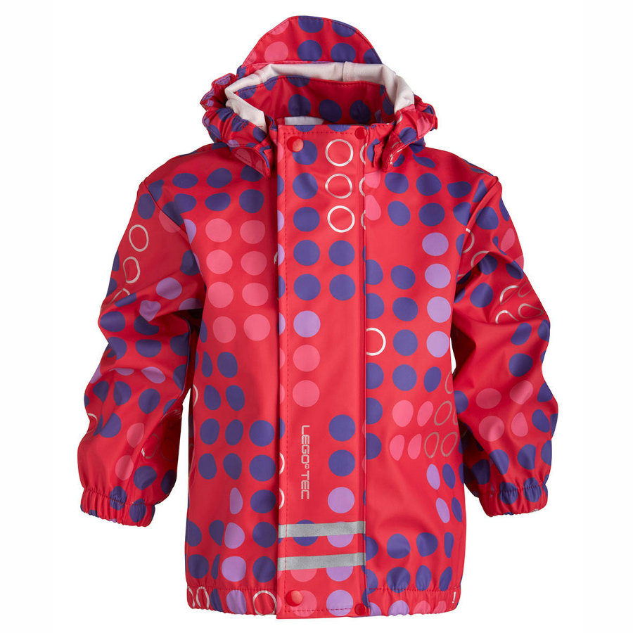 LEGO WEAR Girls Mini Regenjas JESSI 207 bright red