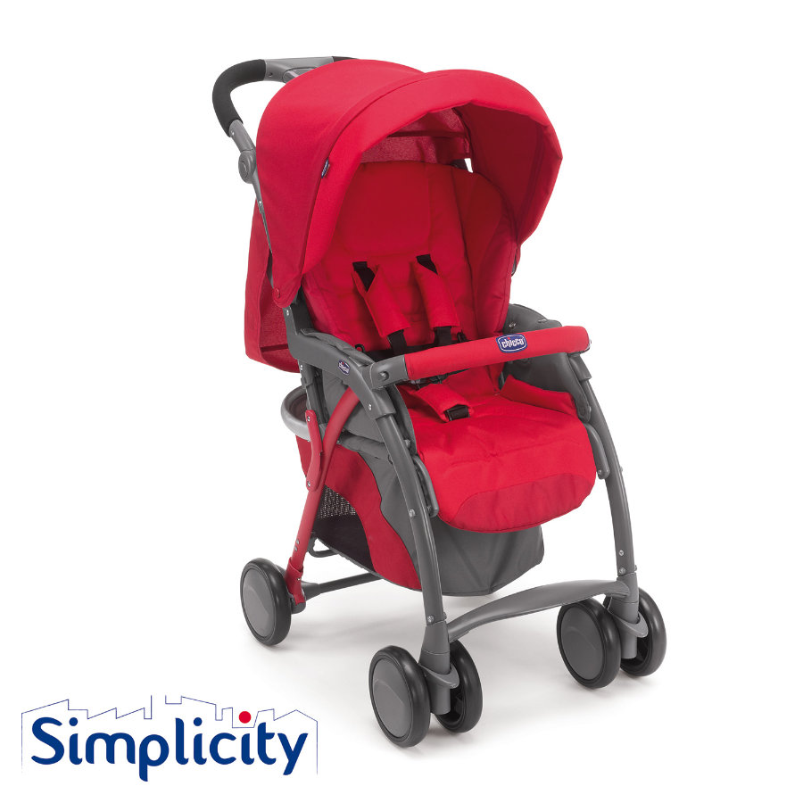 chicco Poussette sport Simplicity Plus Top Red, 2015