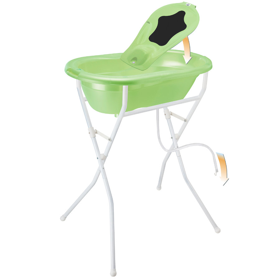ROTHO TOP Bath Set 5 pcs. lime green/pearl