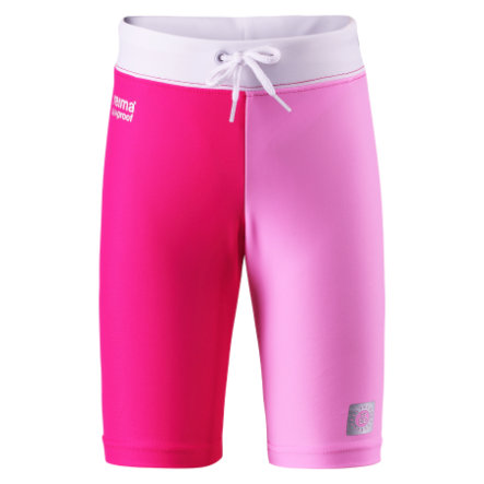 REIMA Girls Short de bain avec protection UV ZANZIBAR, rose vif
