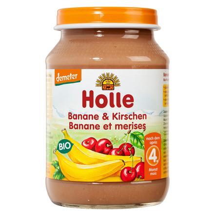 HOLLE Organic Banana and Cherries 190g