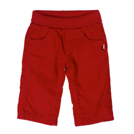 KANZ Baby Pantalone in Velluto a Coste, tango red