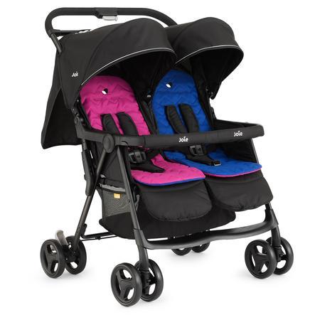Joie Wózek podwójny AireTwin Pink and Blue